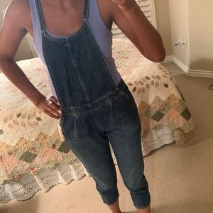 Free People denim Jumpsuit